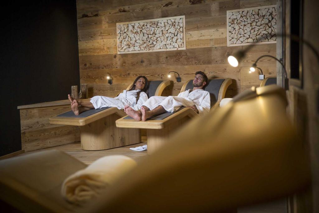 <b>Centro Benessere Wellness SPA Monroc Hotel Val di Sole</b>