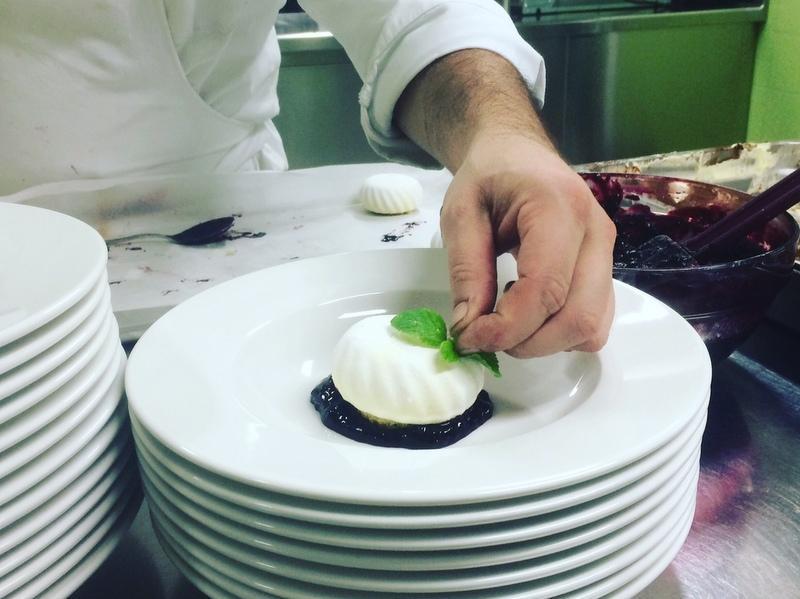 <b>Chef trentino Simone De Marco</b>